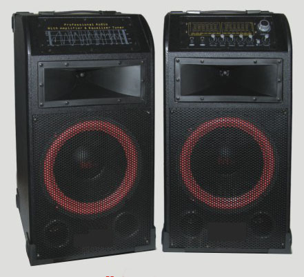 MD-8 professional active speaker